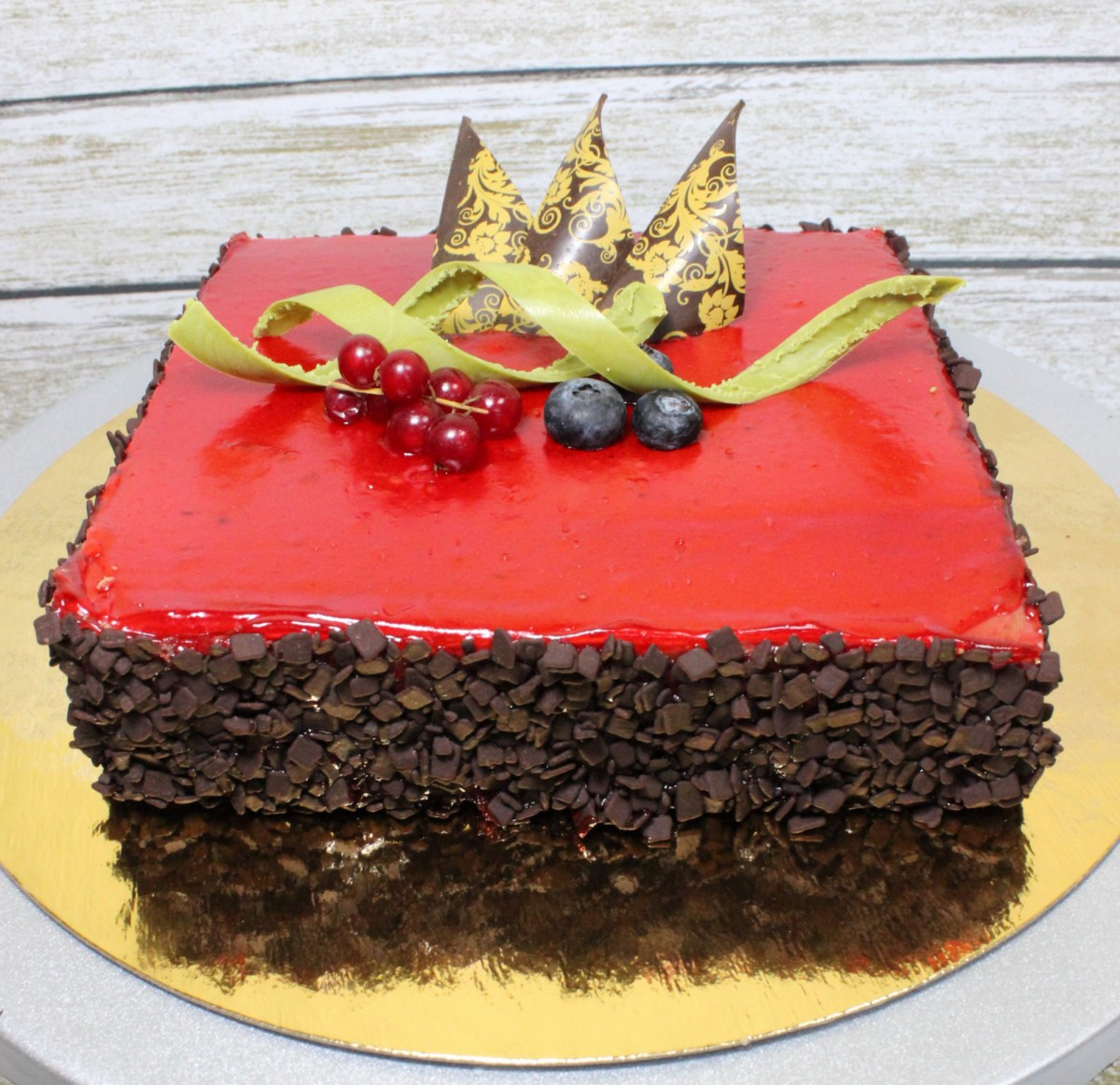 торт с шоколадом аристократ