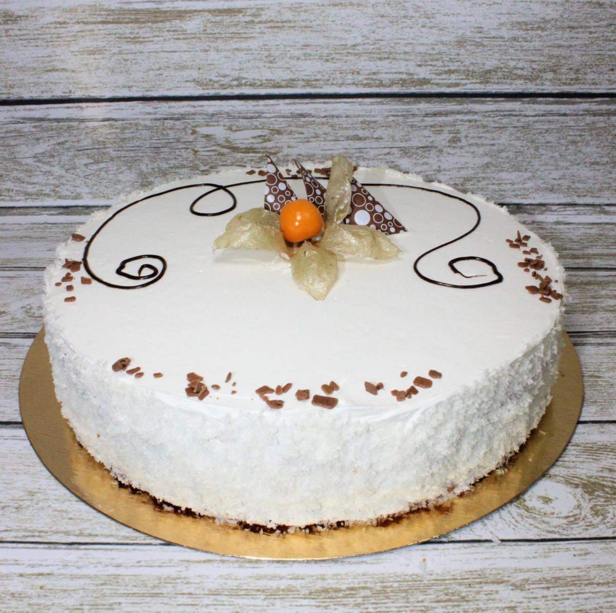 белый танец торт творожный