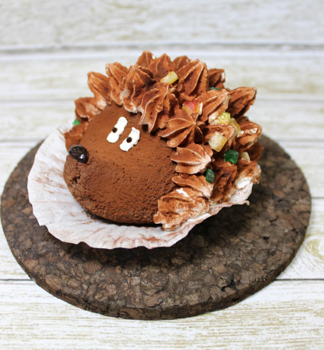 пирожное в форме животного