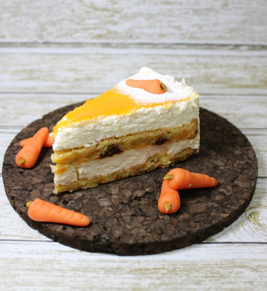 морковное пирожное с сырным кремом ручной работы