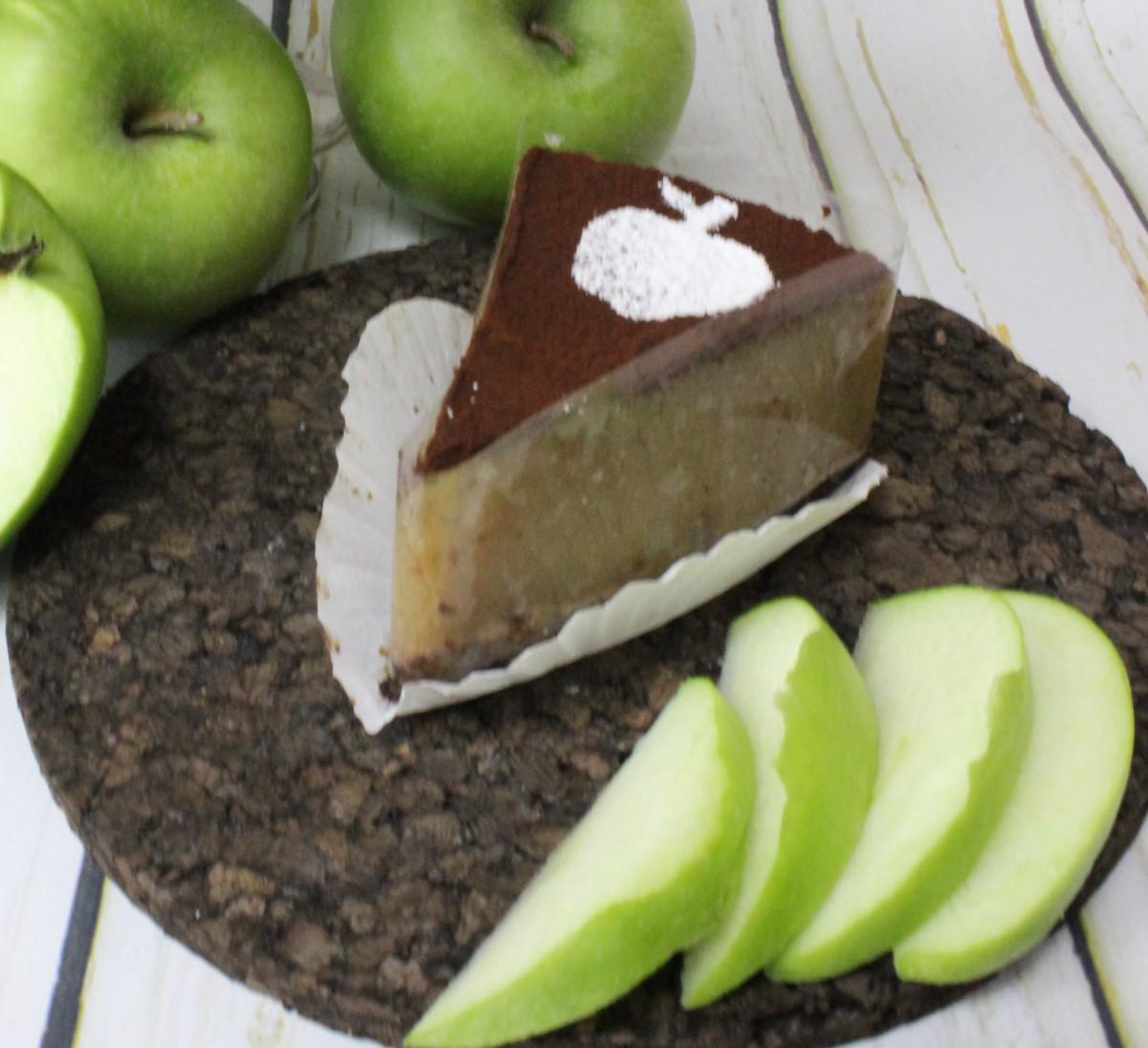 низкокалорийный десерт из яблок