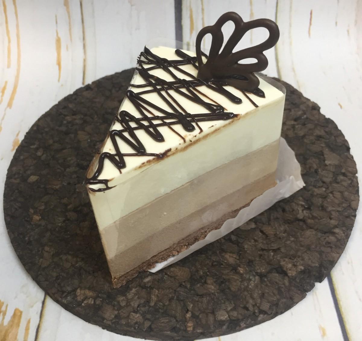 пирожное три шоколада ручной работы
