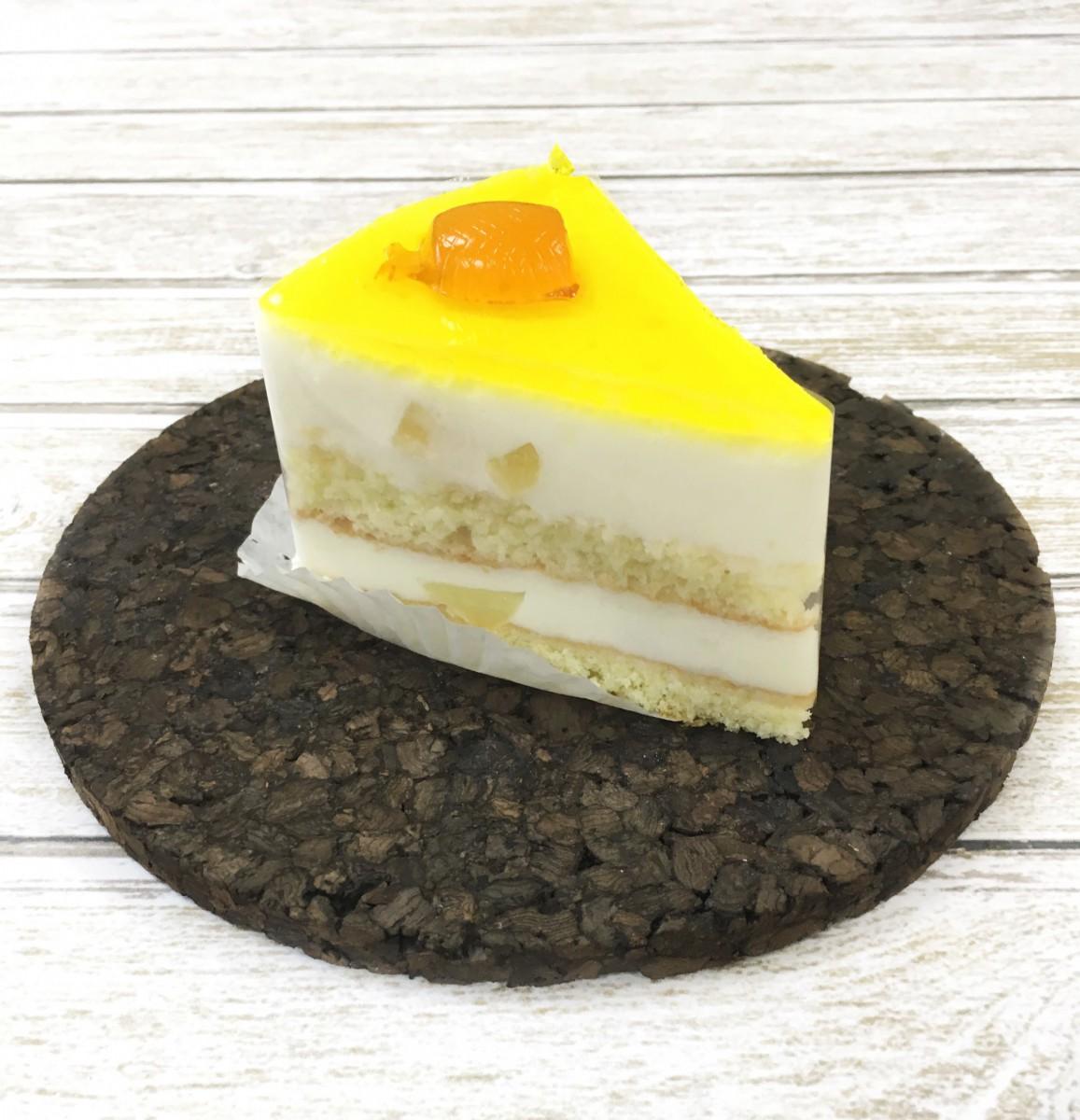 пирожное экзотика с ананасом