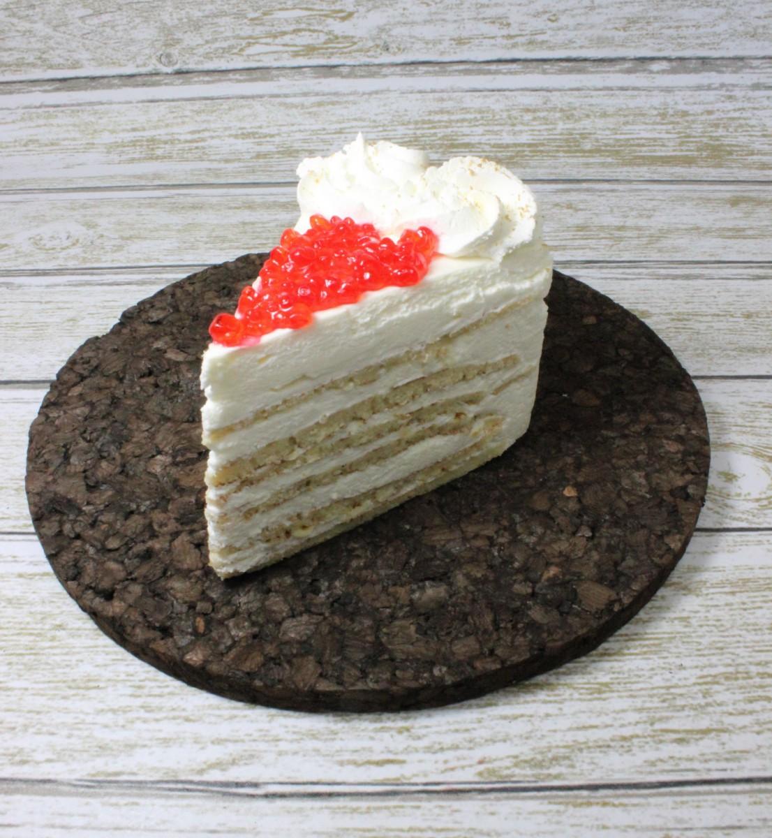 блинное пирожное со сметаной