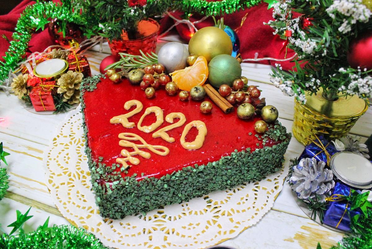 Новогодний торт аристократ