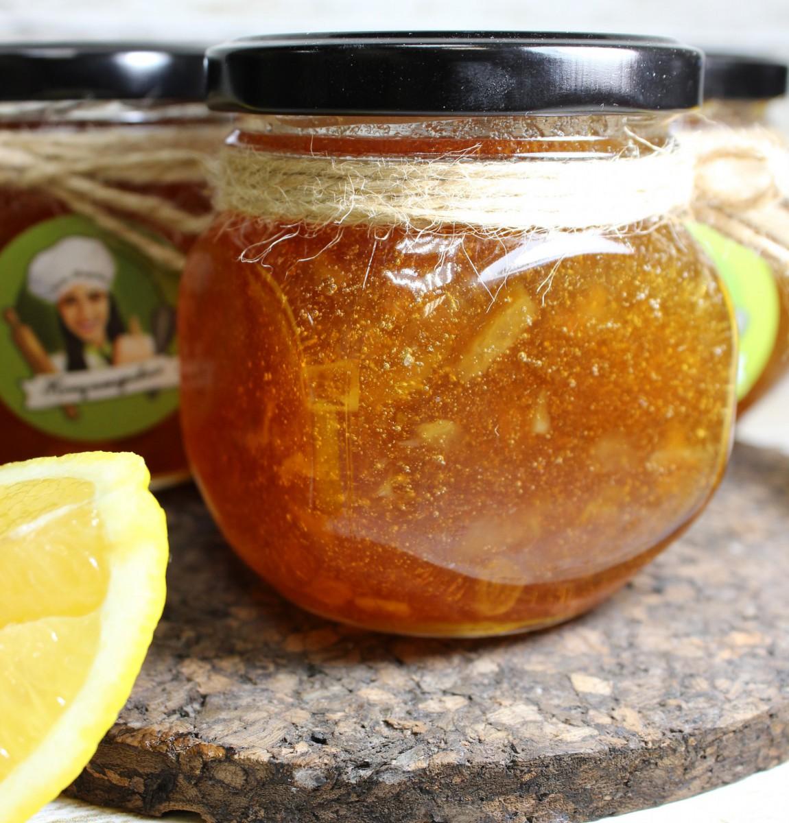 натуральное варенье лимон